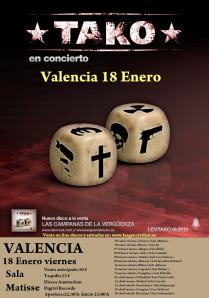 cartel gira LCV valencia