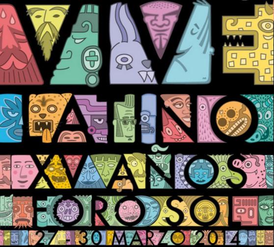 Poster vive latino 2014