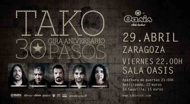 Tako en Zaragoza