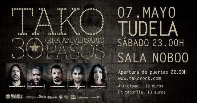 Tako en Tudela 7 mayo